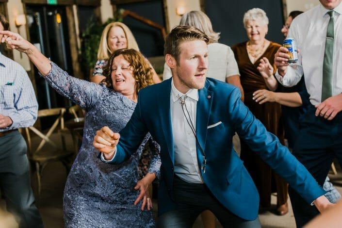 Romantic Mountain Wedding Reception | Denver Colorado Elopement Photographer