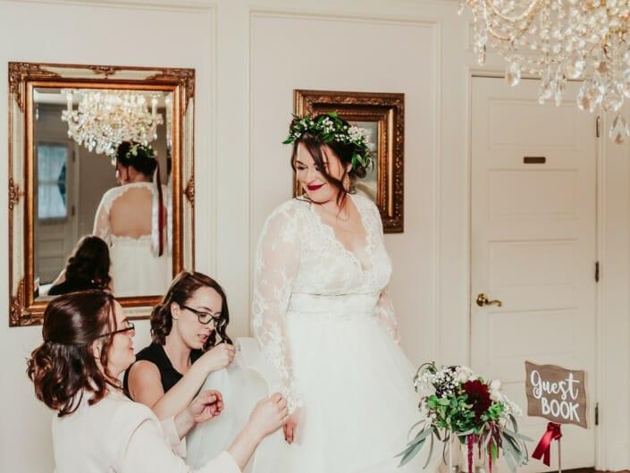 Wedding Bride Getting Ready | Denver Colorado Elopement Photographer