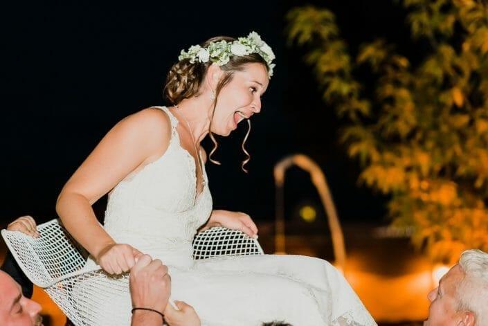 Chair Dance Horah Wedding Photo | Union Fort Collins Colorado Elopement Photographer