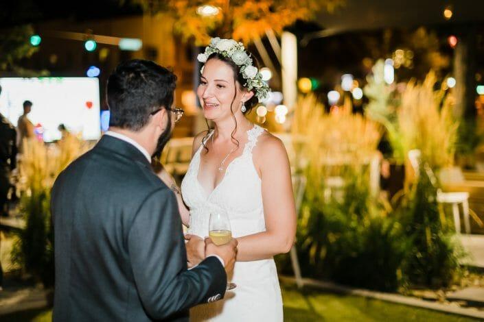 Urban Wedding Reception Photo | Union Fort Collins Colorado Elopement Photographer