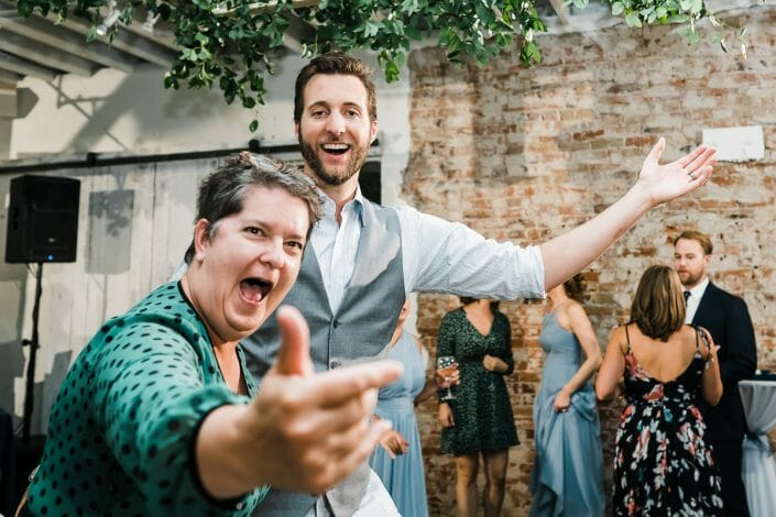Urban Wedding Reception Photo | Denver Colorado Elopement Photographer