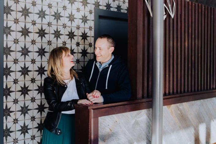 Urban Denver Middleman Bar Portrait | Colorado Engagement Photographer