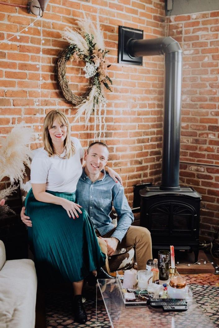 Urban Denver Home Portrait | Colorado Engagement Photographer