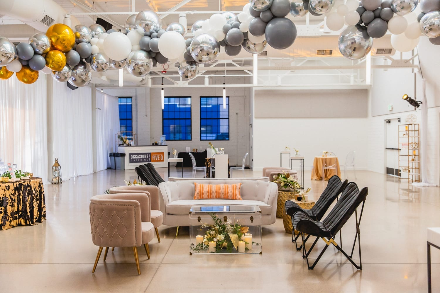 From the Hip Photo | Bear Aesthetic colorado event rental edgy decor design wedding party
