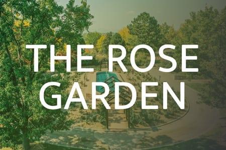 The Hudson Gardens & Event Center Virtual Walkthrough Tour | The Rose Garden