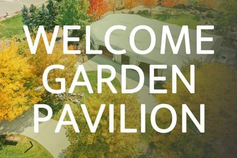 The Hudson Gardens & Event Center Virtual Walkthrough Tour | Welcome Garden Pavilion